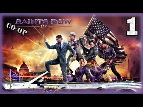 Смотреть прохождение игры [Coop] Saints Row IV. Серия 1 - Инопланетяне? Окей... [16+]