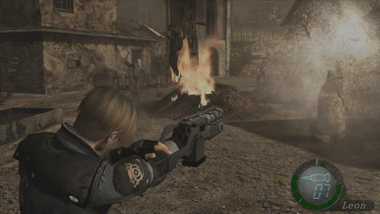 Оружие resident evil 4 ultimate hd edition (1 часть)