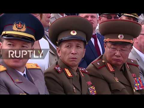 LIVE: Putin attends maritime parade on Russia's Navy Day