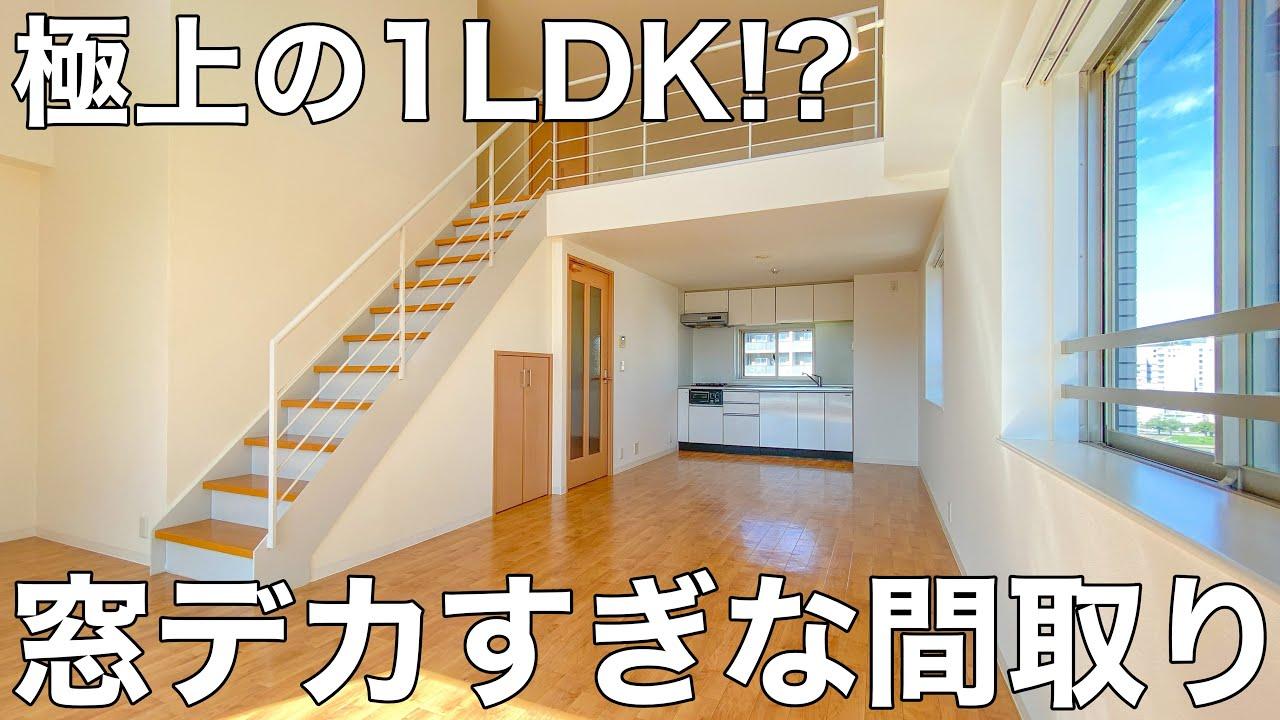 全贅沢すぎる一人暮らし!?最上階の角部屋で日当たりと景色がよいお部屋【賃貸マンションの内見動画】