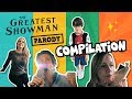 The Greatest Showman Parody COMPILATION // The Holderness Family