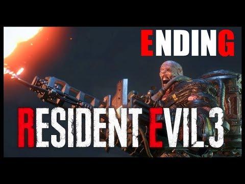 CAN WE ESCAPE NEMESIS?! | Resident Evil 3 Remake {ENDING} - (Live Stream)