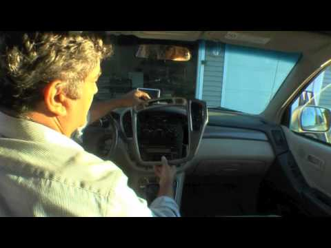 Toyota Highlander 2001 - 07 Climate Control Repair Part 1 - YouTube