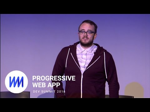 Microsoft: Keeping the Progressive in PWAs (Progressive Web App Summit 2016)