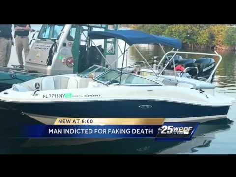 Man indicted for faking death