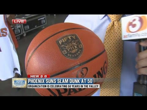 Phoenix Suns Slam Dunk At 50 Tips Off The 50th Season