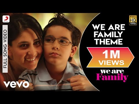 We Are Family - Theme Video | Kareena, Kajol, Arjun