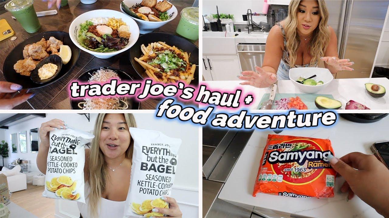 Download trader joe's haul + food adventures in LA!!