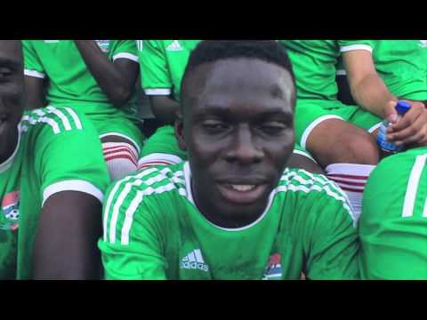 #Watotijay Video Challenge with The Gambia's U20 Football Team