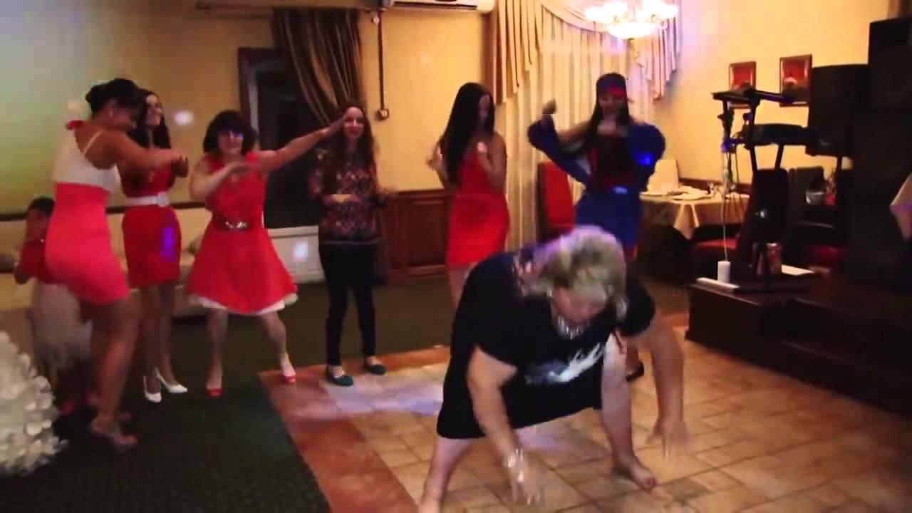 Смотреть видео прикольные танцы на свадьбе