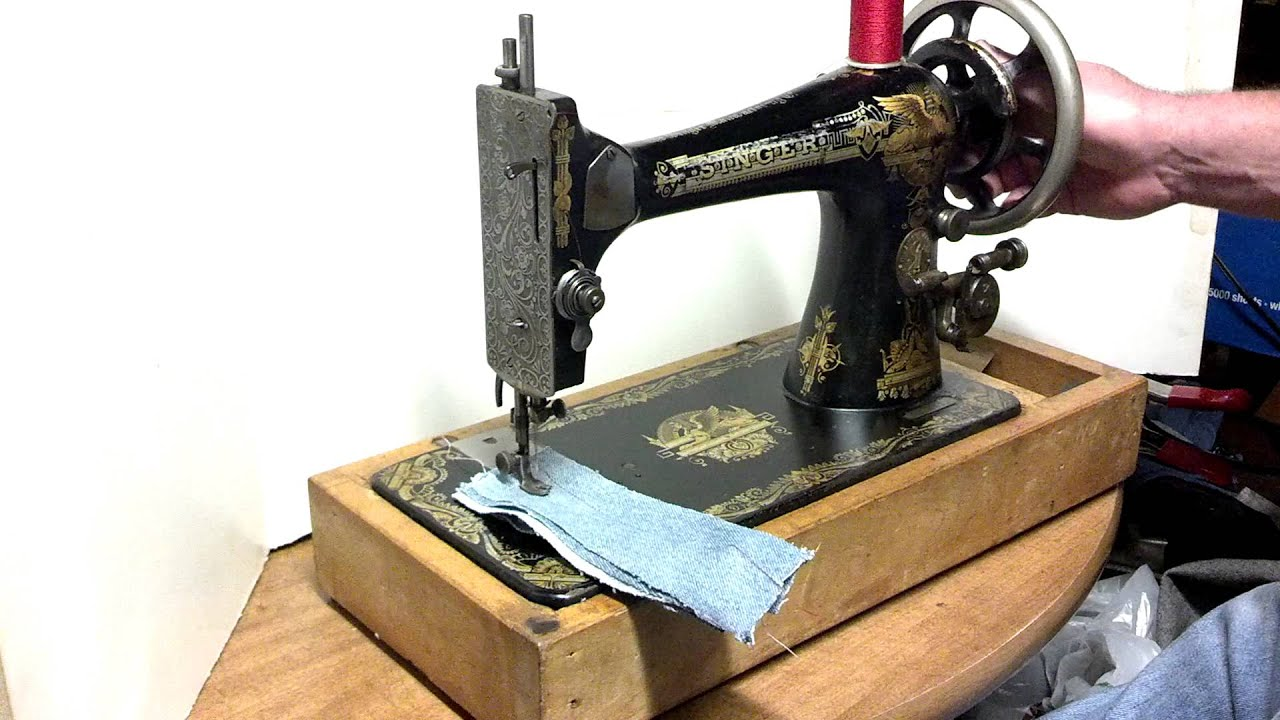 Rare Antique 1901 Singer 27 Sphinx Treadle Only Sewing ...