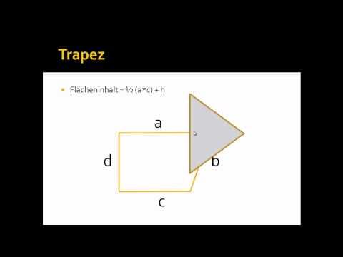 Herleitung der Flächenformel eines Dreiecks from YouTube · Duration:  3 minutes 57 seconds