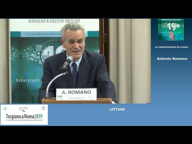 EBGH Torgiano 19 - La Comunicazione In Clinica di Antonio Romano