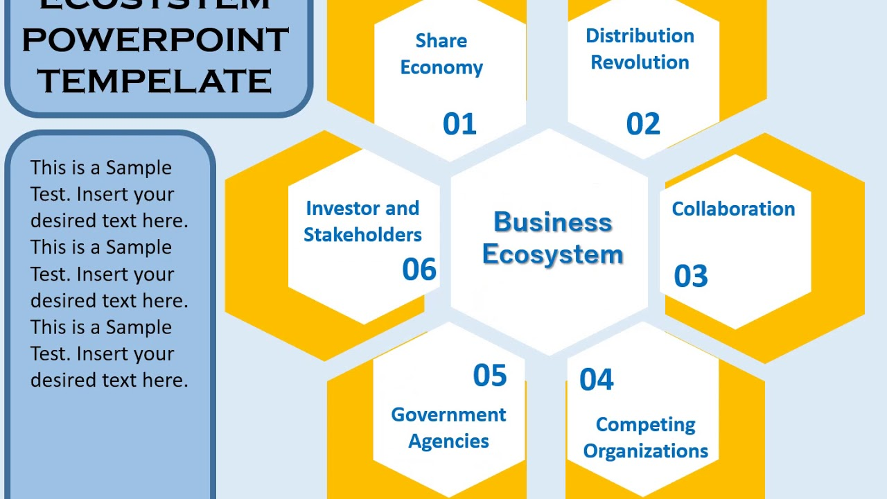 Business Ecosystem Powerpoint Template Youtube