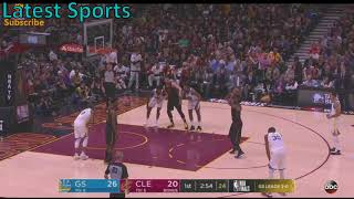 Warriors vs Cavs Game 4 Highlights (1st Quarter) NBA Finals 2018