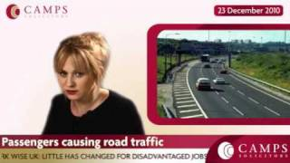 Passengers causing road traffic accidents