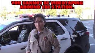 1st Amendment Audit, West Hollywood Sheriff's Station