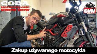 Na co zwrócić uwagę i co sprawdzić przy zakupie używanego motocykla cz.1/3 - CODA MotoVlog