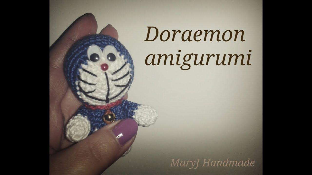 Crochet Doraemon Amigurumi : Tutorial amigurumi: doraemon youtube