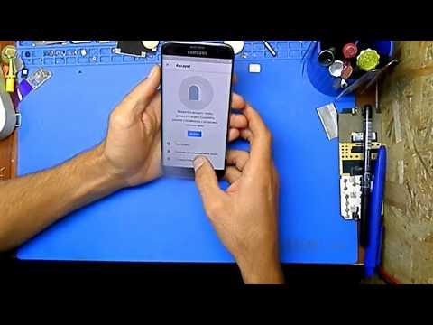 Samsung S7 Edge G935 удаление Гугл аккаунта FRP 8 андроид