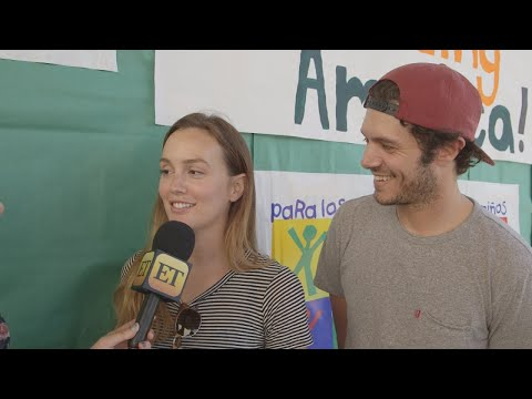 Download Youtube: ​Leighton Meester and Adam Brody Totally 'Laugh' That Blair Waldorf and Seth Cohen Wound Up Toget…