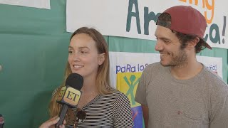 ​Leighton Meester and Adam Brody Totally 'Laugh' That Blair Waldorf and Seth Cohen Wound Up Toget…