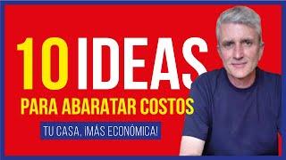 Cómo Construir una Casa ECONÓMICA  10 Ideas para Ahorrar SIN ACHICAR Espacios