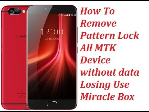 Remove Pattern Lock All MTK Mobiles Without Data Lose - 동영상