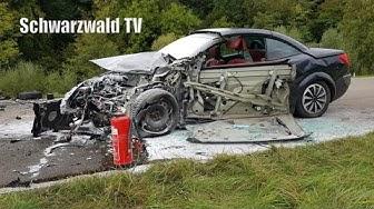 Schwerer Verkehrsunfall mit mehreren Verletzten auf B 317 bei Maulburg - Update [10.10.2019]