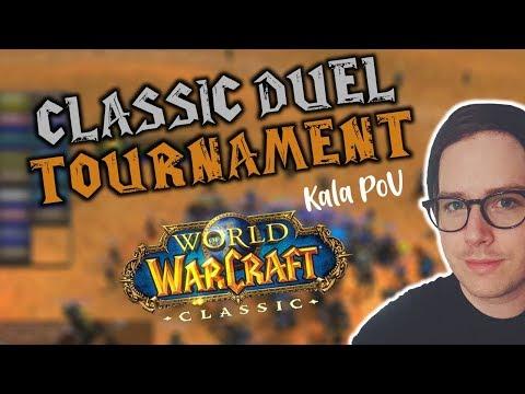 Classic WoW Beta: Duel Tournament Priest PoV