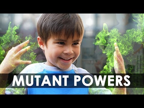 """MUTANT POWERS   Sponsored by """"The Gifted"""" on FOX"""