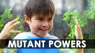 "MUTANT POWERS | Sponsored by ""The Gifted"" on FOX"
