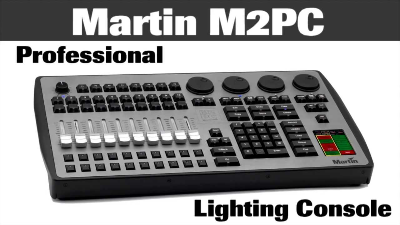 Martin Professional M2PC Compact M PC Lighting Control Surface Overview    Full Compass   YouTubeMartin Professional M2PC Compact M PC Lighting Control Surface  . Martin Lighting Software Free. Home Design Ideas