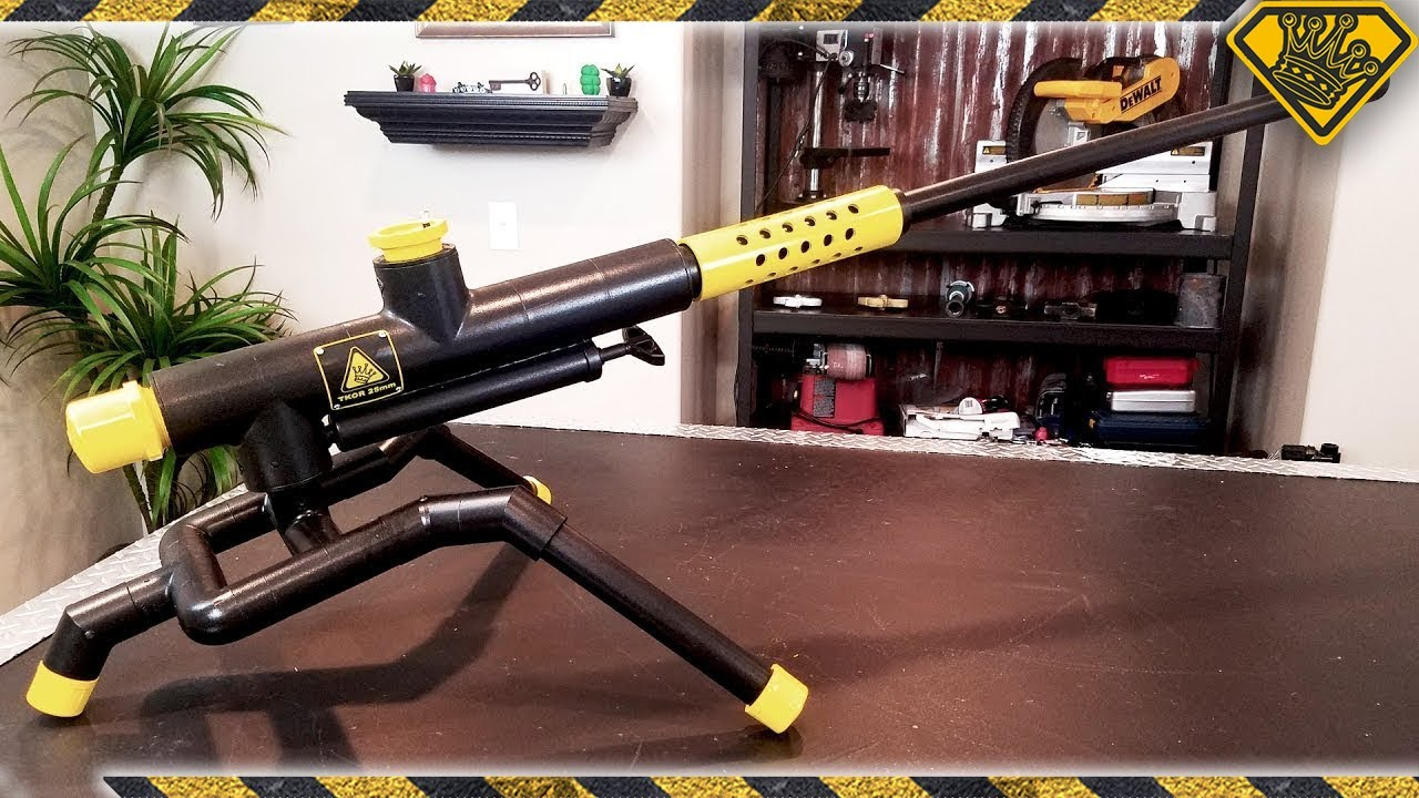 Making a 25mm Sonic Blaster Cannon