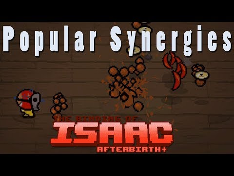 The Binding of Isaac Afterbirth Plus | Splitting Nucleus | Popular Synergies!