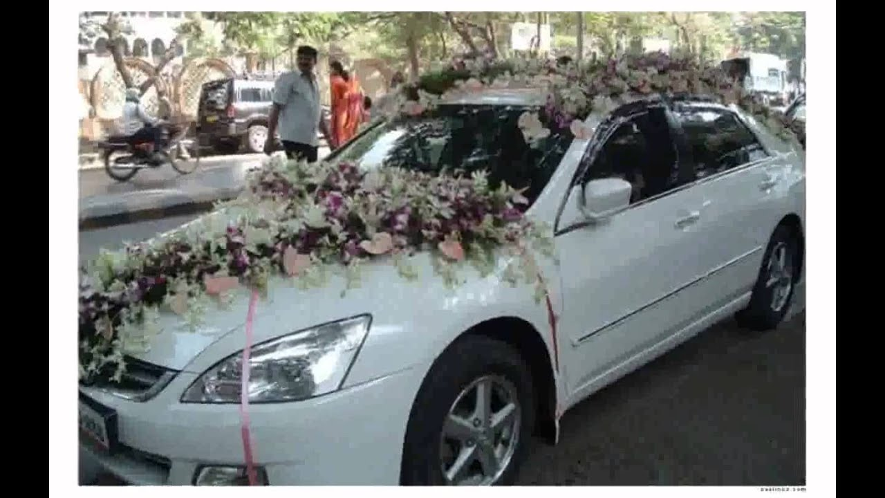 Floral Car Decoration