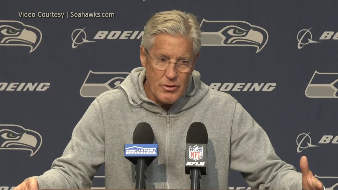 Pete Carroll on Carson Wentz 2019-11-20