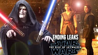 The Rise Of Skywalker Ending Leaks Revealed! (Star Wars Episode 9)