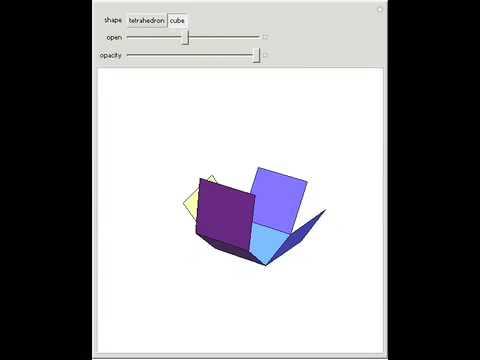 Unfolding Polyhedron Nets