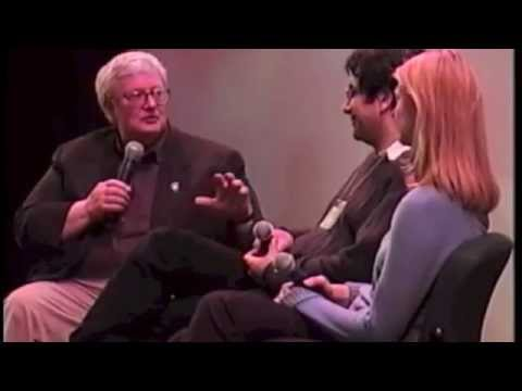 Roger Ebert s MARYAM director Ramin Serry and producer Shauna Lyon  Ebertfest 2001