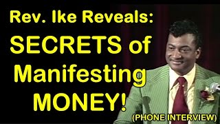 Rev. Ike Reveals 'Secrets of MANIFESTING Money' - Rare Recorded Interview with Michele Blood thumbnail