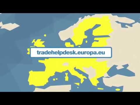 ¿Qué es el EU Trade Help Desk?