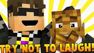 HOW TO MAKE A YOUTUBER | Minecraft - Do Not Laugh Modded Miningame