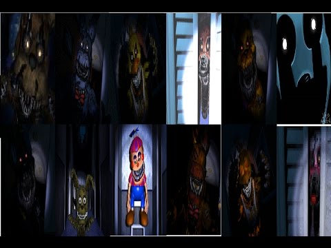 All FnaF 4 Characters sing Bringing us Home by TryHardNinja