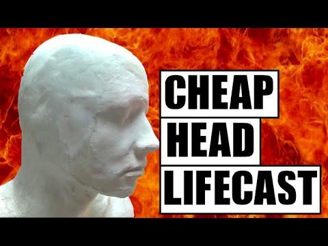 Lifecasting: How to make a lifecast of your head _Batman mask build  part1_Factory prop build