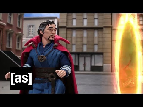 Doctor Strange Leaves the Portal Open | Robot Chicken | Adult Swim