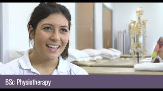 Studying BSc Physiotherapy at the University of Birmingham