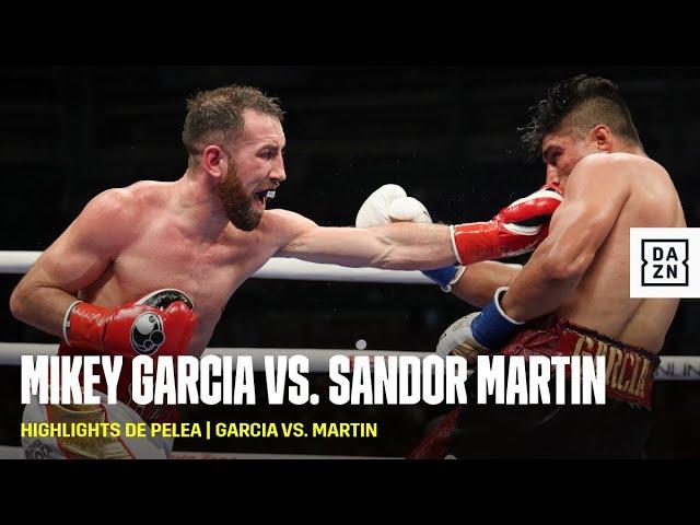 HIGHLIGHTS DE PELEA   Mikey Garcia vs. Sandor Martin (Español)