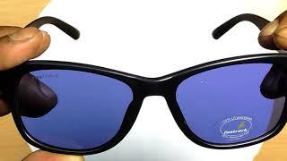 Fastrack Wayfarer Sunglasses  (Blue) in HINDI by TECHNICAL ASTHA