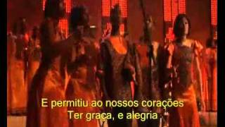 Clipe Universal Gospel Choir - Jesus is love (legendado)